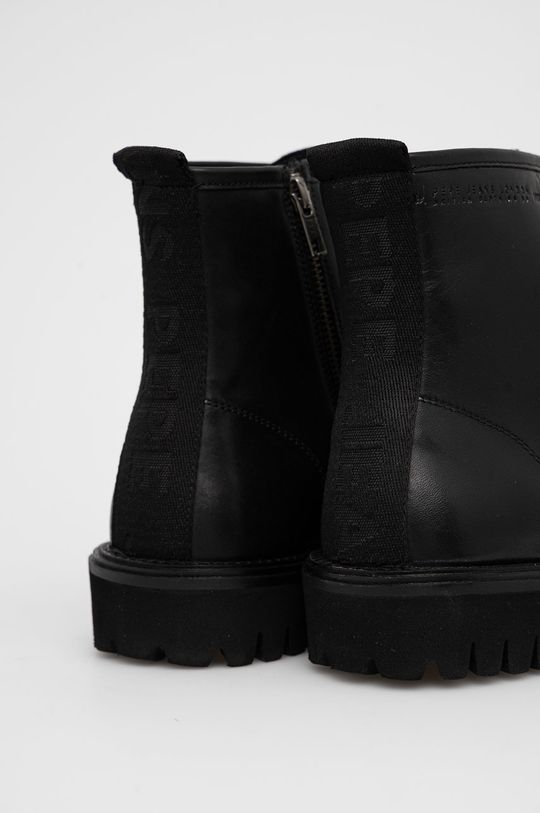 Pepe Jeans - Kožené boty Trucker Boot  Svršek: Přírodní kůže Vnitřek: Textilní materiál, Přírodní kůže Podrážka: Umělá hmota