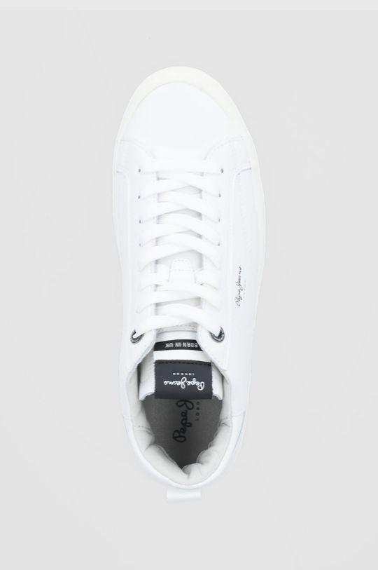 biały Pepe Jeans - Buty skórzane Yogi Original Boot