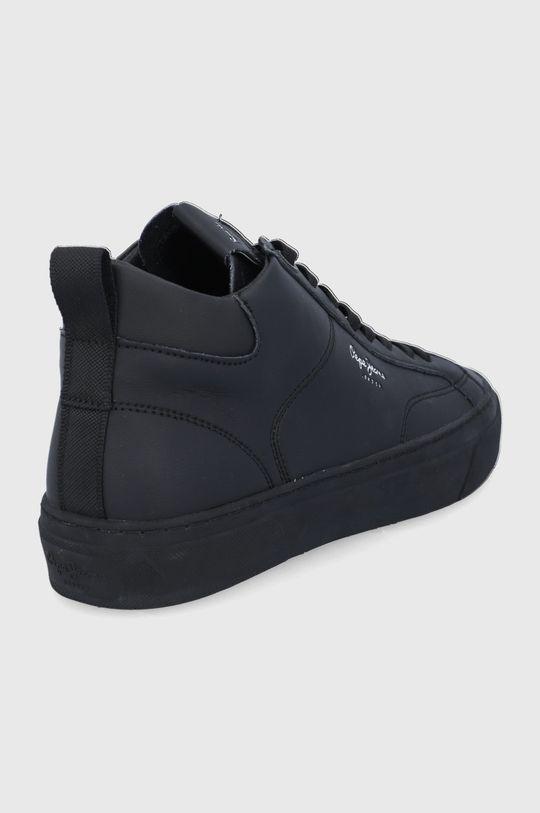 Pepe Jeans - Buty skórzane Yogi Original Boot Cholewka: Skóra naturalna, Wnętrze: Materiał syntetyczny, Podeszwa: Materiał syntetyczny