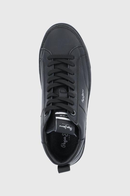 czarny Pepe Jeans - Buty skórzane Yogi Original Boot