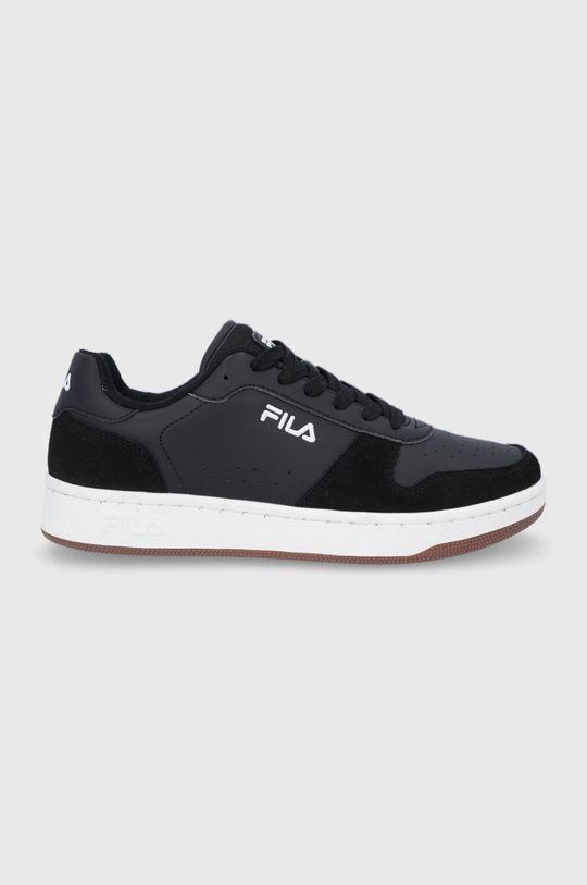 čierna Fila - Topánky Netforce II low Pánsky