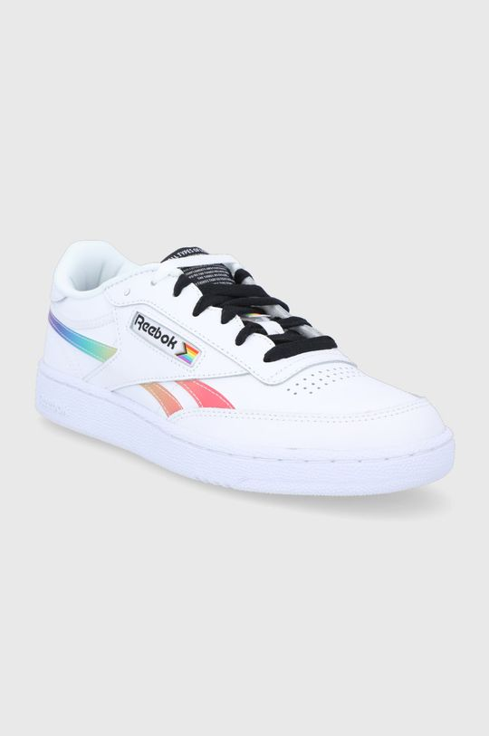 Reebok Classic - Bőr cipő Club C Revenge fehér