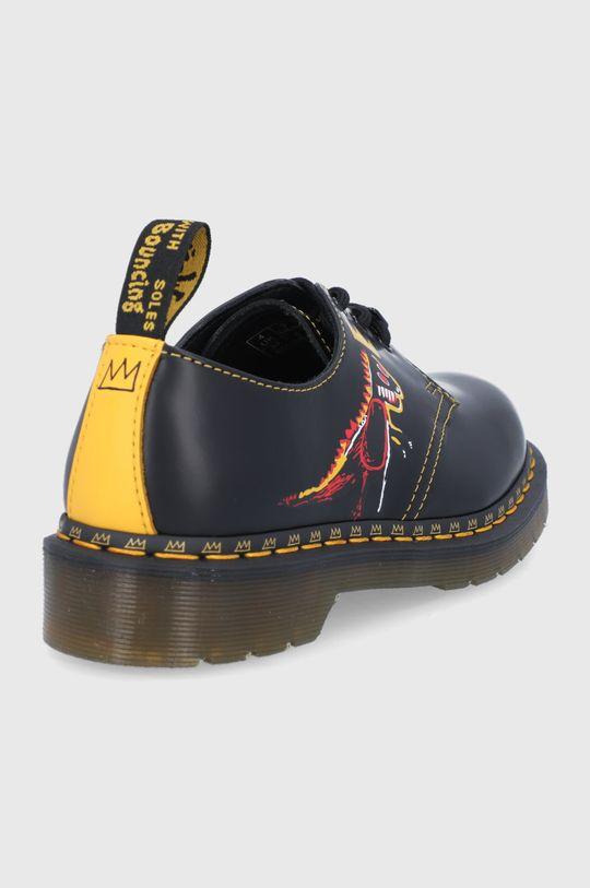 Dr. Martens - Pantofi de piele 1461 Basquiat  Gamba: Piele naturala Interiorul: Material textil, Piele naturala Talpa: Material sintetic