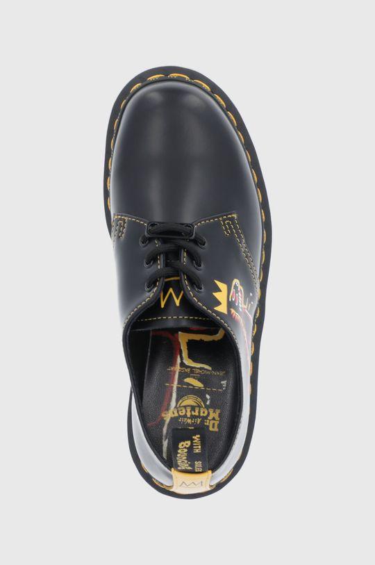 negru Dr. Martens - Pantofi de piele 1461 Basquiat