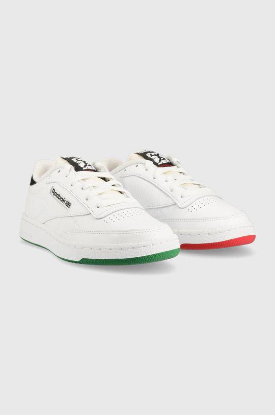 biały Reebok Classic - Buty Club C 85 Unisex