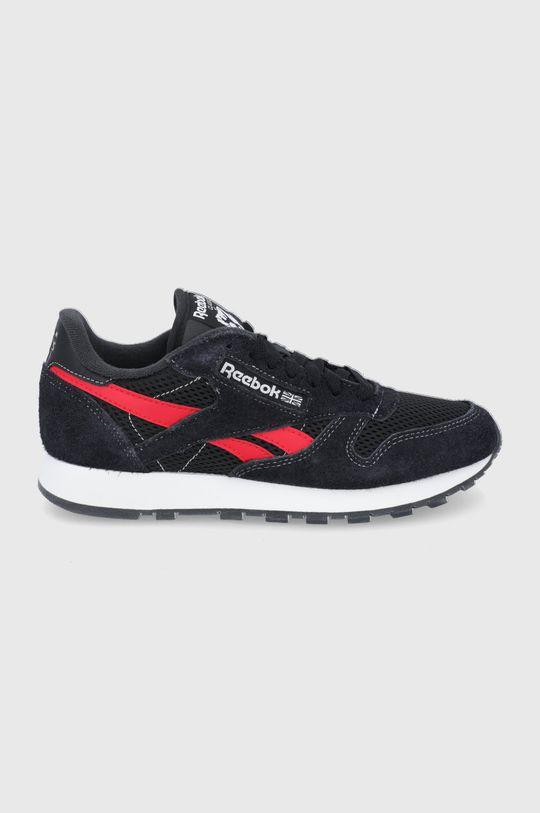 negru Reebok Classic - Pantofi CL Lether Unisex