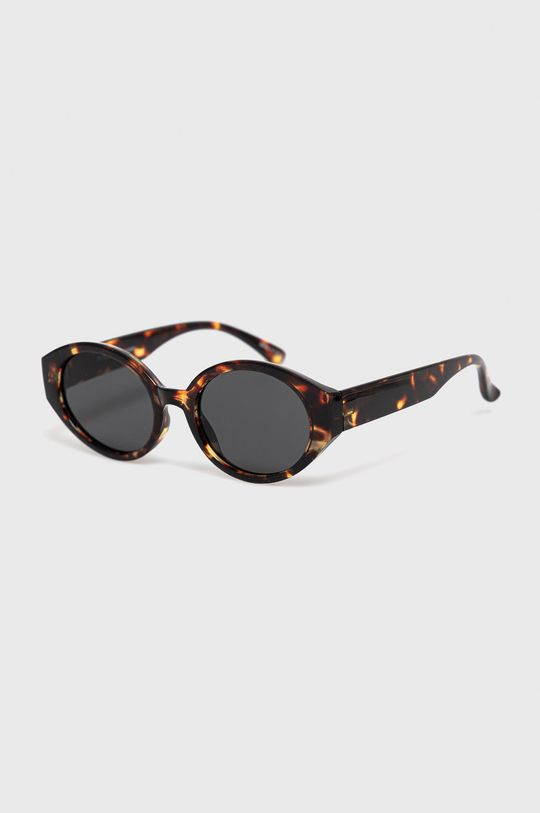 brązowy Pieces - Okulary przeciwsłoneczne Damski