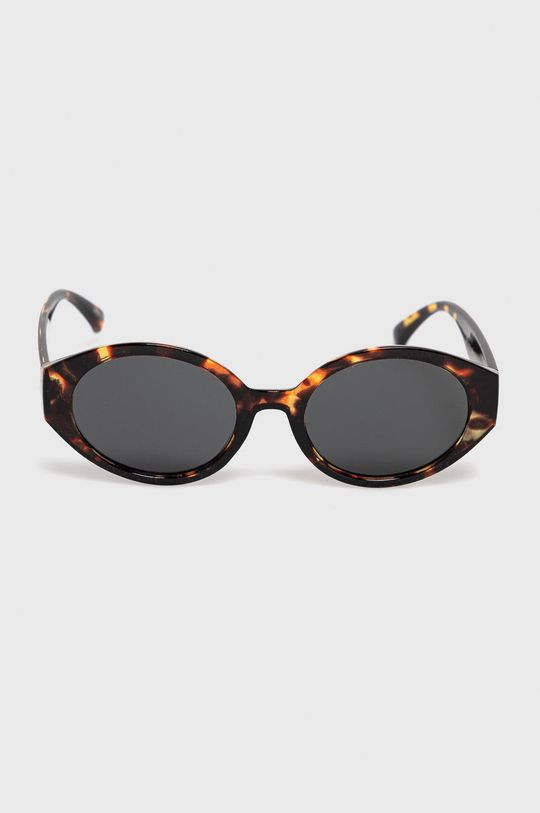 Pieces - Okulary przeciwsłoneczne brązowy