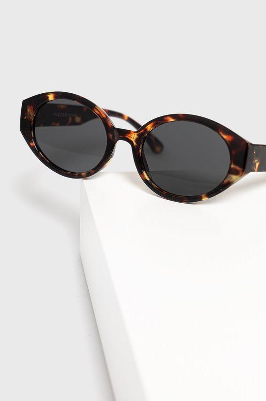 Pieces - Okulary przeciwsłoneczne Materiał syntetyczny