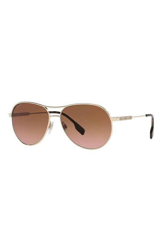 zlatá Burberry - Slnečné okuliare 0BE3122 Dámsky