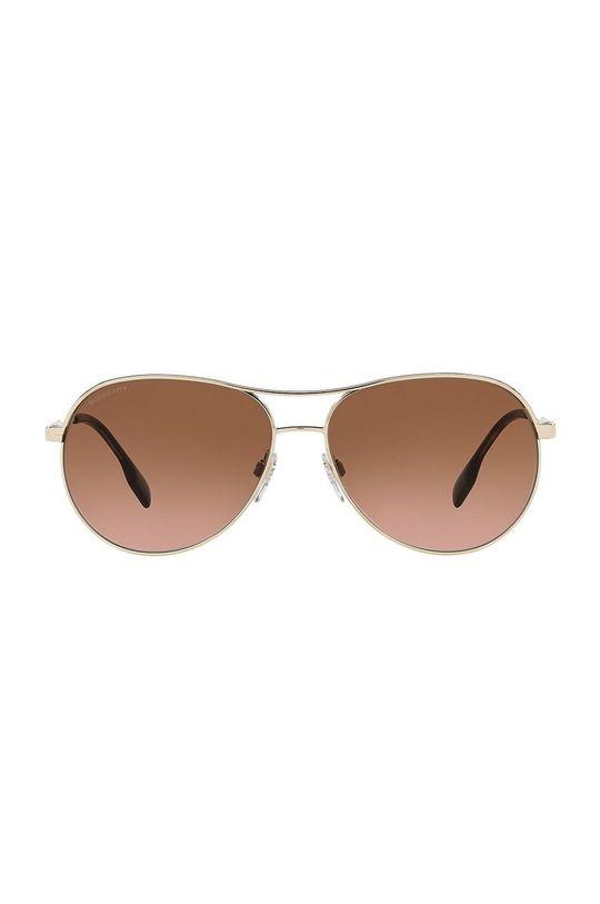 Burberry - Slnečné okuliare 0BE3122 zlatá