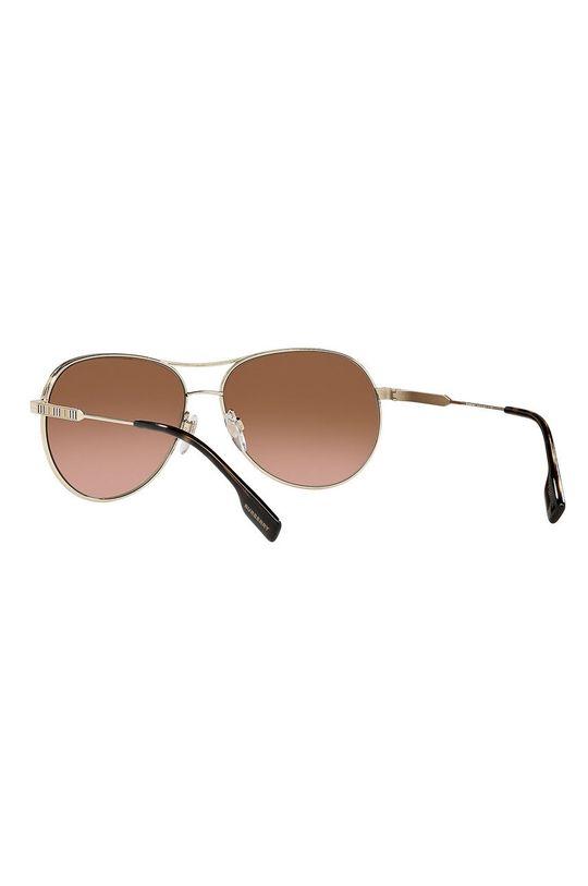 zlatá Burberry - Slnečné okuliare 0BE3122
