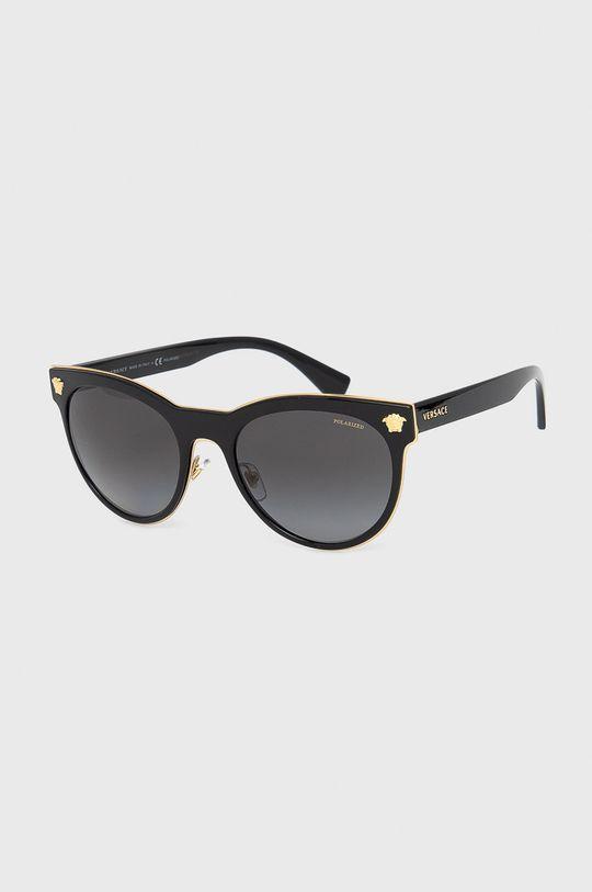 černá Versace - Sluneční brýle 0VE2198 Dámský
