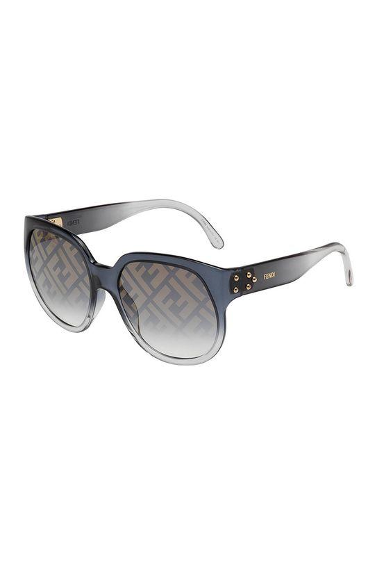 szary Fendi - Okulary przeciwsłoneczne Damski