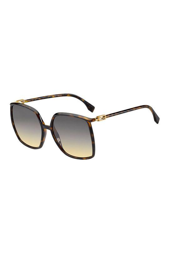 czarny Fendi - Okulary przeciwsłoneczne Damski