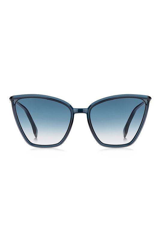 Fendi - Okulary przeciwsłoneczne stalowy niebieski