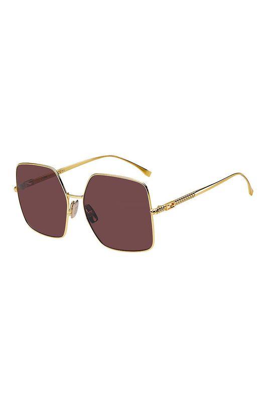 ciemny fioletowy Fendi - Okulary przeciwsłoneczne Damski