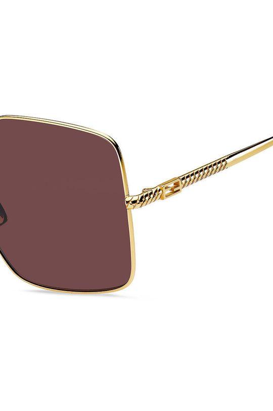 Fendi - Okulary przeciwsłoneczne Metal, Plastik