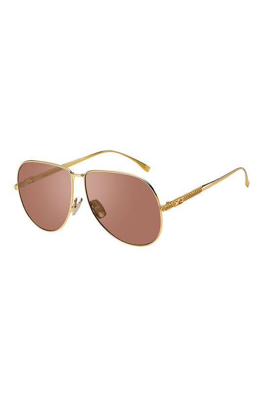 brudny róż Fendi - Okulary przeciwsłoneczne Damski