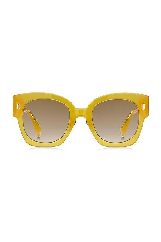 Fendi - Okulary przeciwsłoneczne żółty