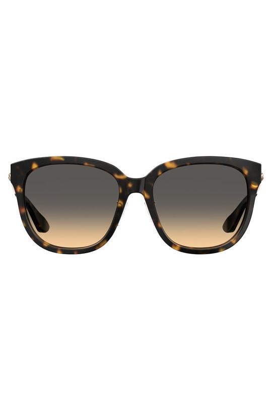 Moschino - Okulary przeciwsłoneczne ciemny brązowy