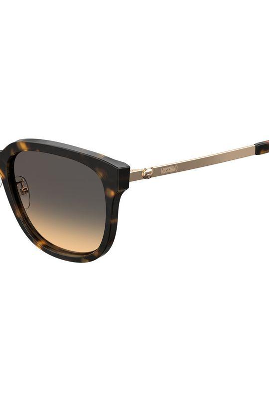 Moschino - Okulary przeciwsłoneczne Materiał syntetyczny, Metal