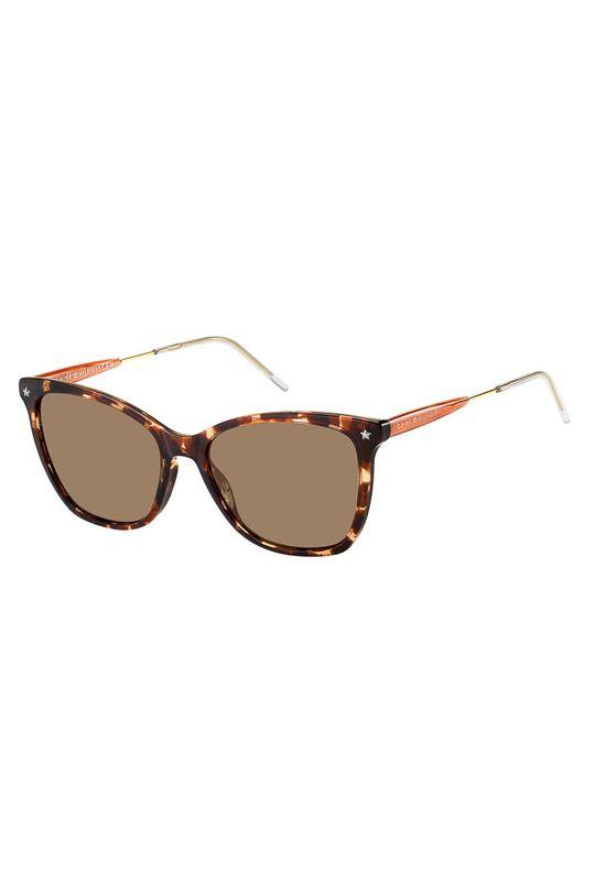 brązowy Tommy Hilfiger - Okulary przeciwsłoneczne Damski