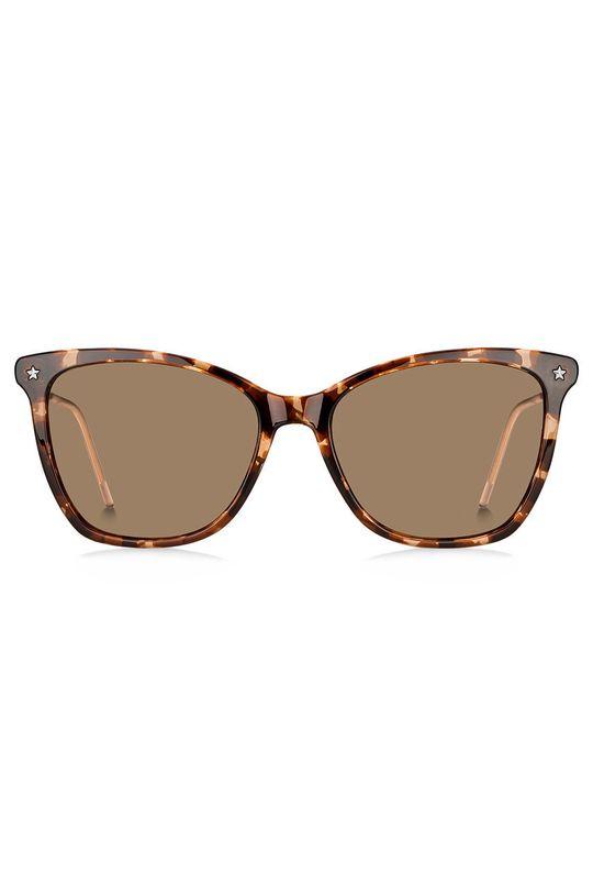 Tommy Hilfiger - Okulary przeciwsłoneczne brązowy