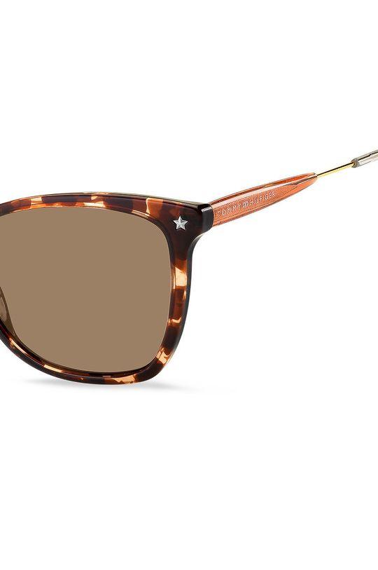 Tommy Hilfiger - Okulary przeciwsłoneczne Materiał syntetyczny, Metal