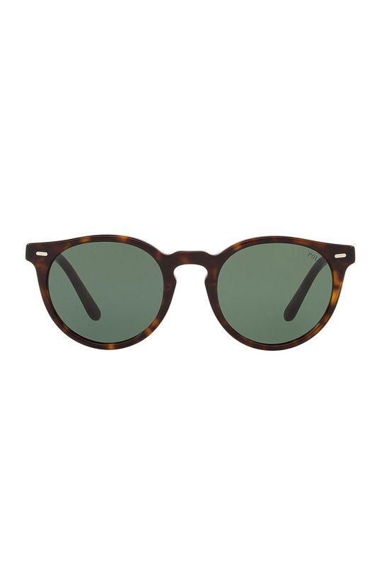 Polo Ralph Lauren - Slnečné okuliare 0PH4151 tmavohnedá