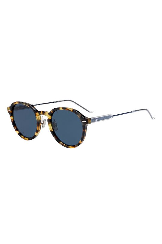 stalowy niebieski Dior - Okulary przeciwsłoneczne Męski
