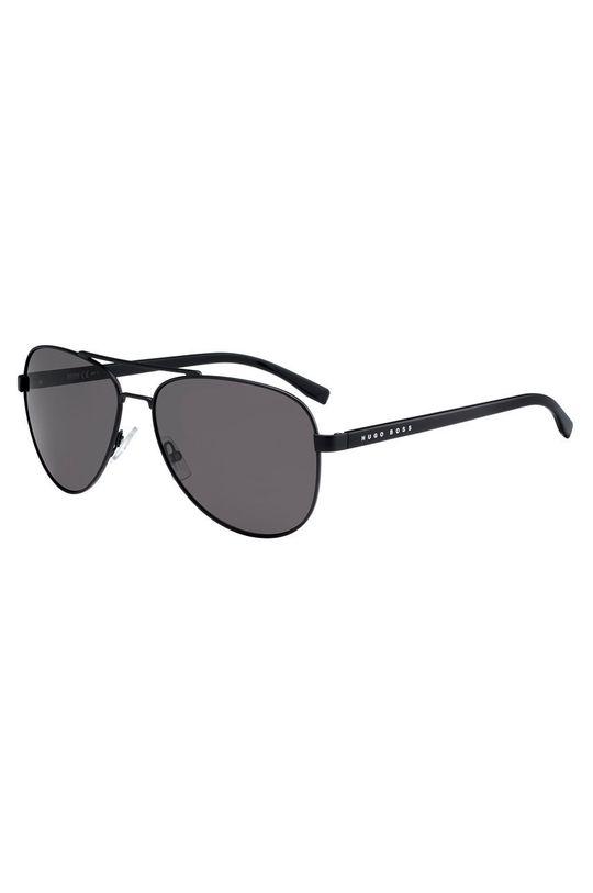 czarny Hugo Boss - Okulary przeciwsłoneczne 233253 Męski