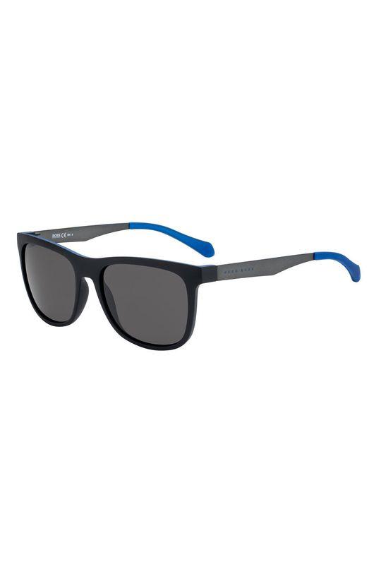 szary Hugo Boss - Okulary przeciwsłoneczne 233837 Męski