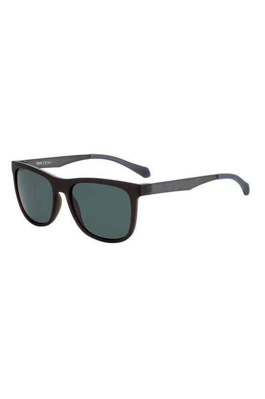 czarny Hugo Boss - Okulary przeciwsłoneczne 233837 Męski