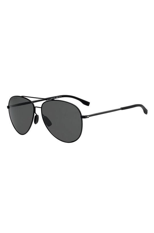 czarny Hugo Boss - Okulary przeciwsłoneczne 200564 Męski