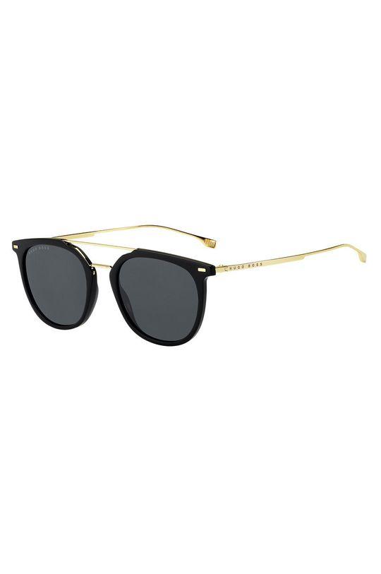 czarny Hugo Boss - Okulary przeciwsłoneczne 201334 Męski