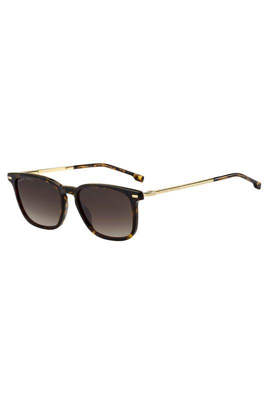 ciemny brązowy Hugo Boss - Okulary przeciwsłoneczne 201312 Męski