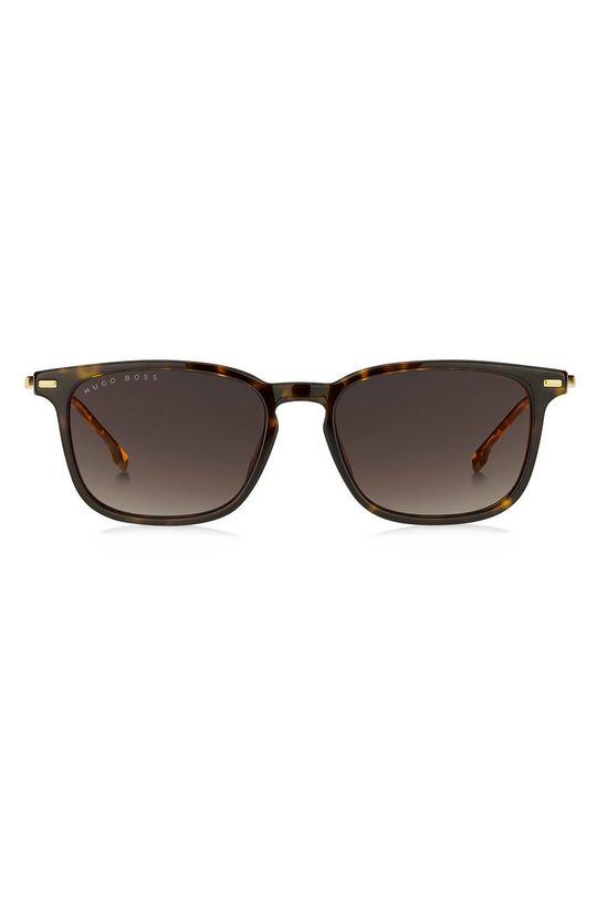 Hugo Boss - Okulary przeciwsłoneczne 201312 ciemny brązowy