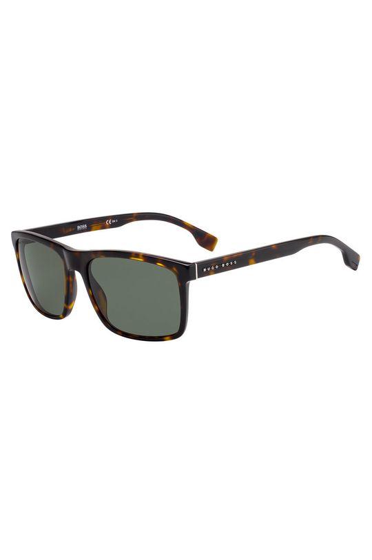 ciemny brązowy Hugo Boss - Okulary przeciwsłoneczne 201739 Męski