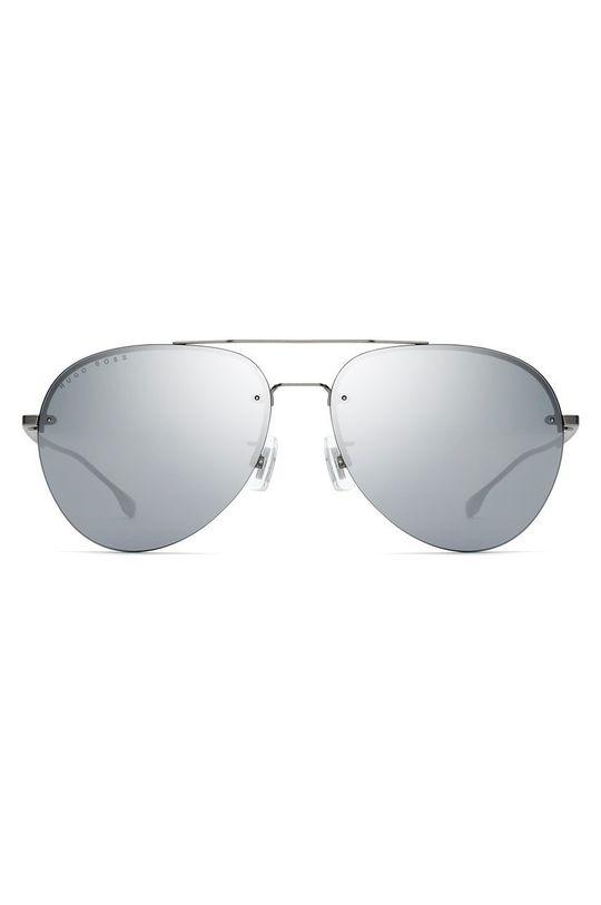 Hugo Boss - Okulary przeciwsłoneczne srebrny
