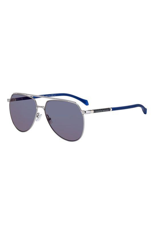 granatowy Hugo Boss - Okulary przeciwsłoneczne 202793 Męski