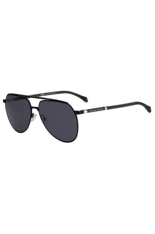 czarny Hugo Boss - Okulary przeciwsłoneczne 202793 Męski