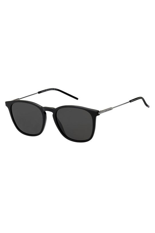 czarny Tommy Hilfiger - Okulary przeciwsłoneczne Męski