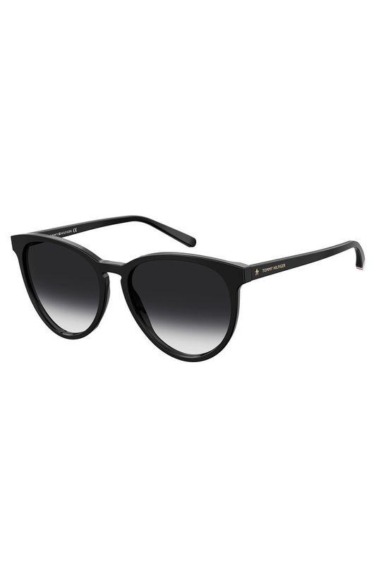 czarny Tommy Hilfiger - Okulary przeciwsłoneczne Unisex