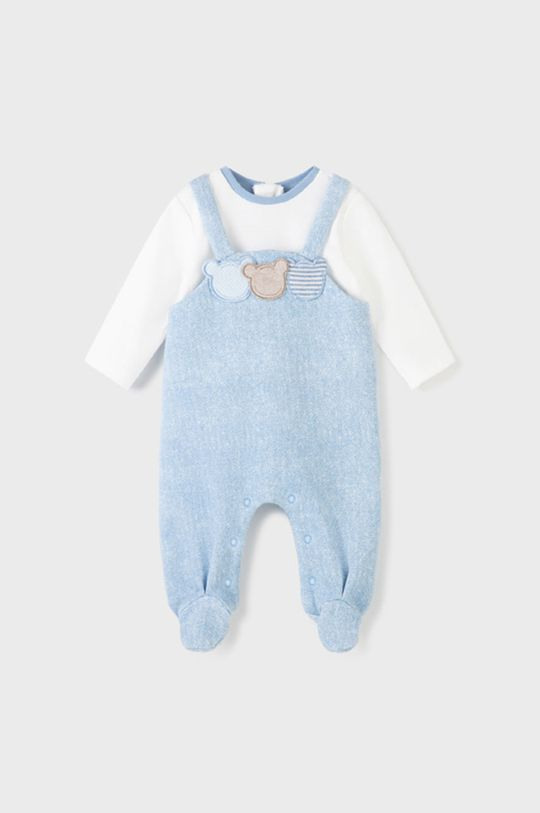 bledomodrá Mayoral Newborn - Dupačky pre bábätká Chlapčenský