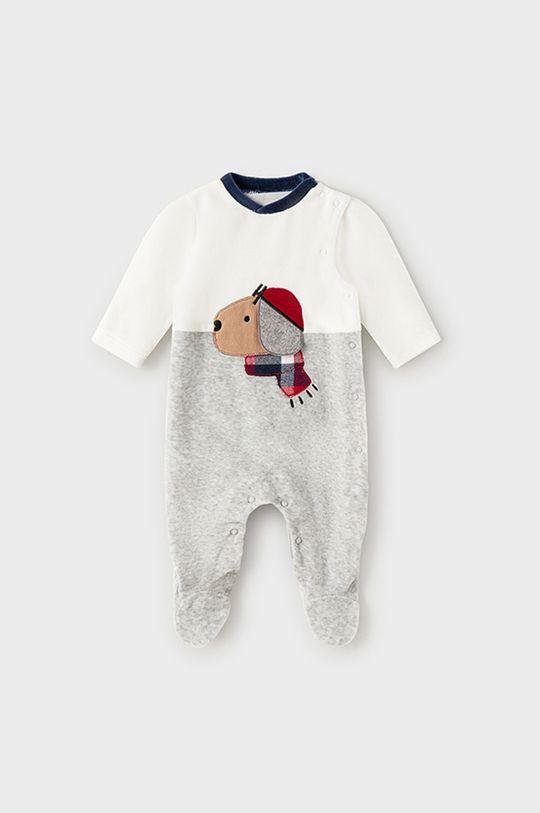 szary Mayoral Newborn - Pajacyk niemowlęcy Chłopięcy