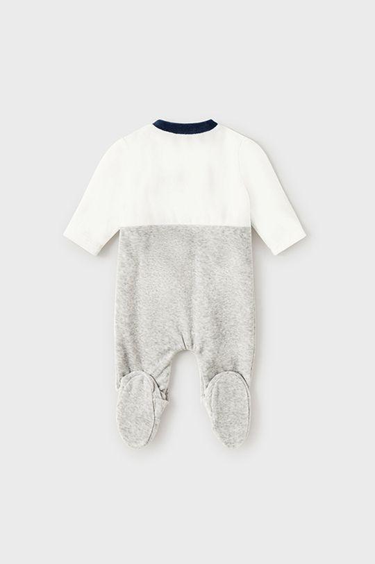 Mayoral Newborn - Pajacyk niemowlęcy szary