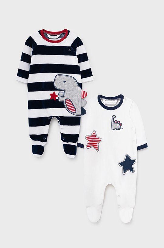 granatowy Mayoral Newborn - Śpioszki niemowlęce (2-pack) Chłopięcy