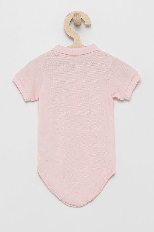 Lacoste - Body bebe roz