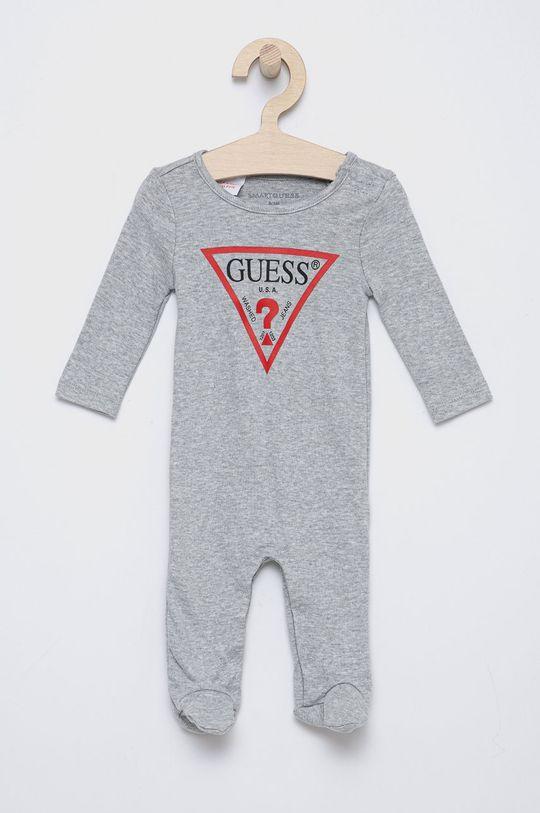 světle šedá Guess - Kojenecké oblečení 62-76 cm Dívčí
